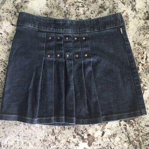 Burberry Jean  Skirt